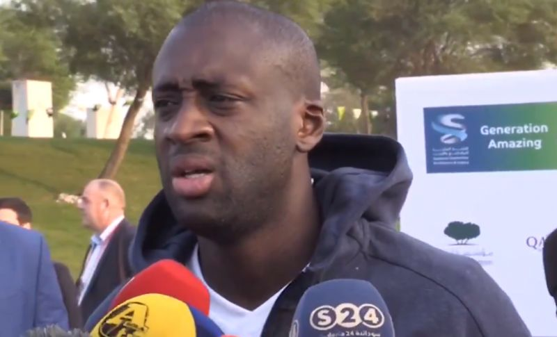 """(Video) """"It's Liverpool's to lose"""" – Yaya Toure backs Reds in Premier League tile race"""