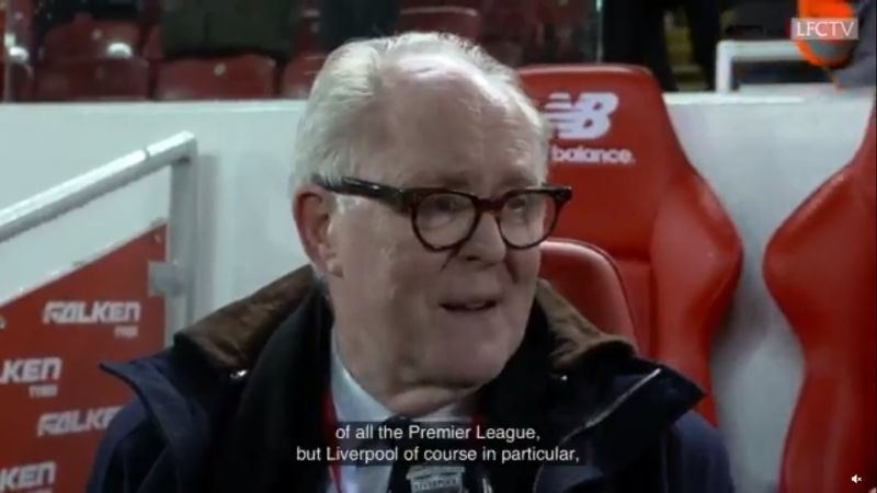 (Video) Sincere John Lithgow talking about his love for LFC will warm your heart