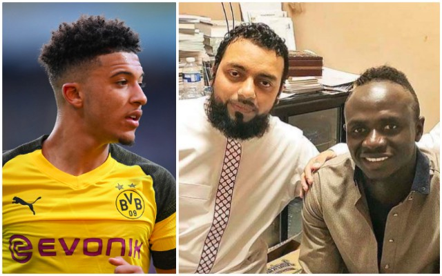 Jadon Sancho 'likes' Sadio Mane's humility and shows as much on Twitter