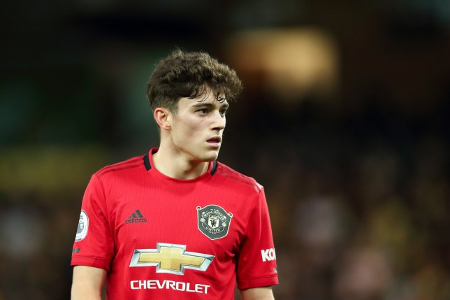 Daniel James doesn't think Manchester United will lose at Anfield