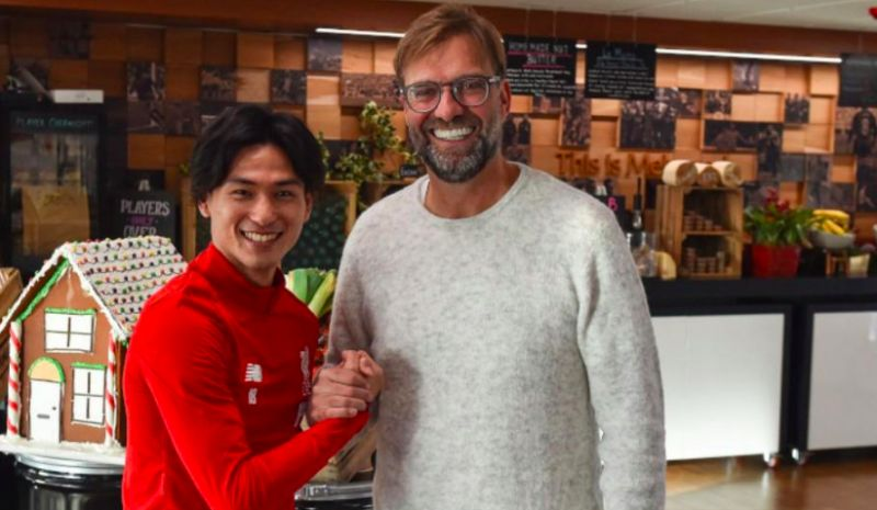 Klopp lauds 'outstanding' Minamino following Liverpool debut