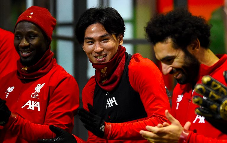 Many Liverpool fans react as Minamino starts and Karius named in match-day squad