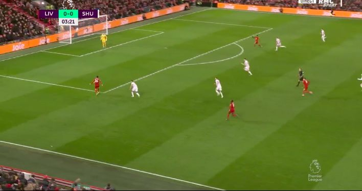 (Video) Salah bags v Sheffield United with typically precise Robertson assist