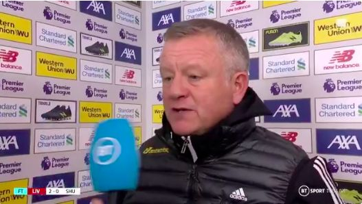 (Video) Awesome Chris Wilder goes mad for Liverpool: 'I love everything about them'