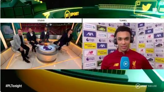 (Video) Trent uses 'Nobody wants to be Gary Neville' quote in explaining how he's changing right-back forever