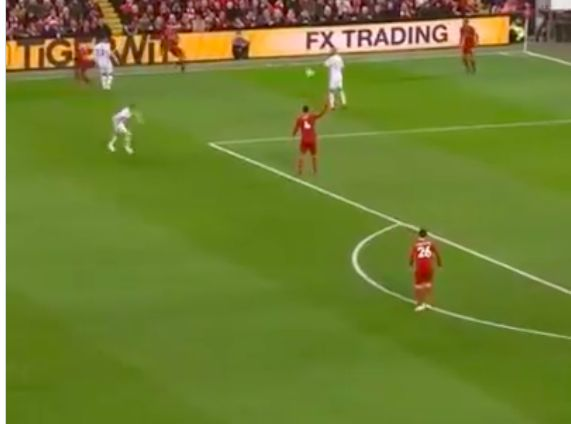 (Video) Technique on this Trent pass v Sheffield United is jaw-dropping