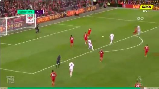 (Video) Origi's brilliant covering tackle in injury time sums up Liverpool's committed performance