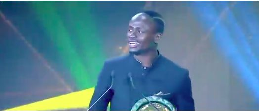 (Video) Sadio Mane's African POTY acceptance speech is a thing of beauty
