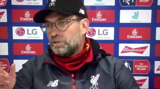 (Video) Klopp slams media for lazy analysis of our youngsters