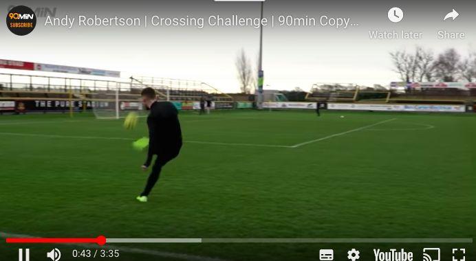 (Video) Robertson's crossing masterclass is very eye-opening