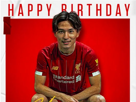Minamino has a message for Liverpool fans on his 25th birthday