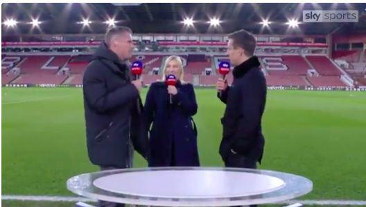 (Video) Carra says United can't dominate in Europe as they can't influence referees & leaves Neville clutching at straws