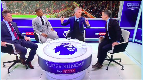 (Video) Souness's brilliant rant on useless refs is a must-watch and leaves Evra checking his drink