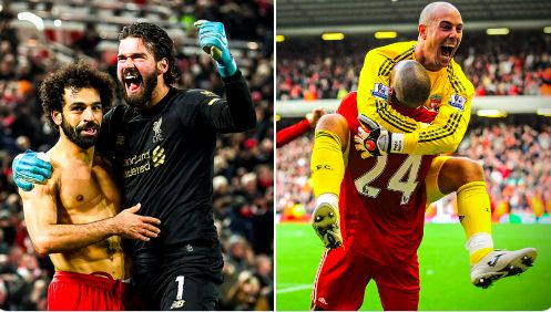 (Video) Alisson admits he was copying Pepe Reina with full-pitch sprint
