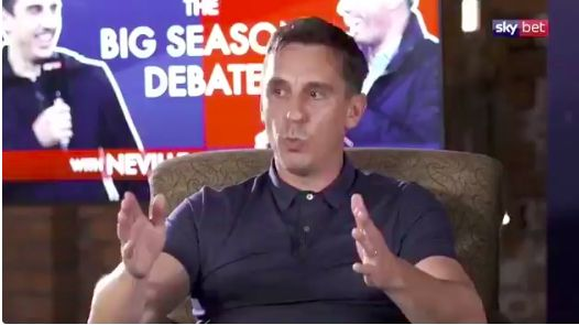 Gary Neville shares 'anonymous' plan for PL return 'no-one wants to put their name' to