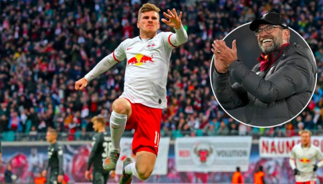 Liverpool given '65%' chance to sign Timo Werner by BILD