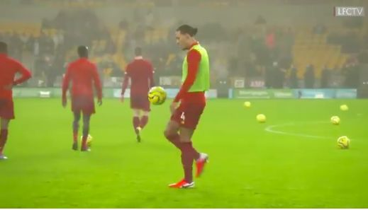 (Video) Van Dijk's warmup trickery is hilariously nonchalant and goes viral