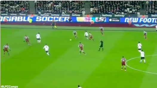 (Video) Mo Salah's performance v West Ham: No11 scintillates between the lines