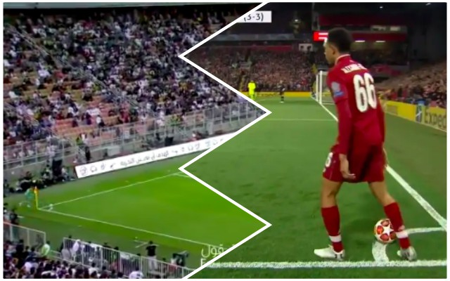 (Video) Toni Kroos tried Trent's trick-corner technique & scored a worldy