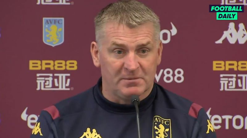 (Video) Aston Villa's Dean Smith the latest to defend Jurgen Klopp's choice to field weakened team in FA Cup replay