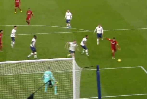 (Video) New angle of Firmino's goal v. Spurs shows just how classy a finish it was