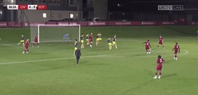 (Video) Curtis Jones scores another beauty a week after Merseyside Derby triumph