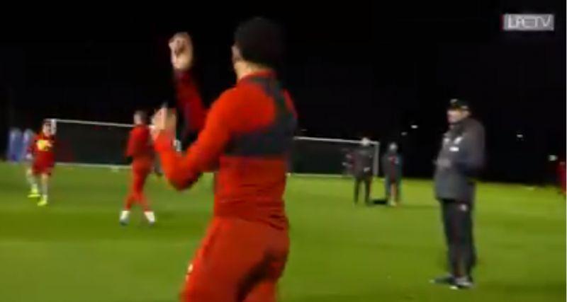 "(Video) Klopp calls Trent & Robbo ""idiots"" in funny training clip at Melwood"