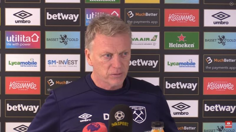 "(Video) Typically passive Moyes hopes West Ham can land ""lucky"" blow on LFC"