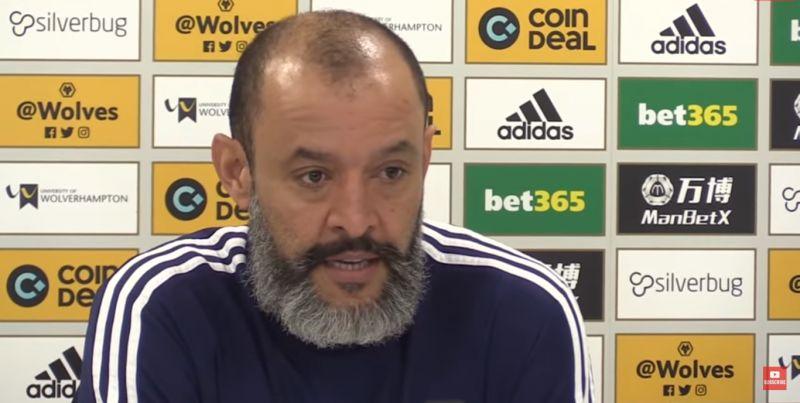 """(Video) Nuno: Jurgen Klopp is a """"fantastic manager"""""""