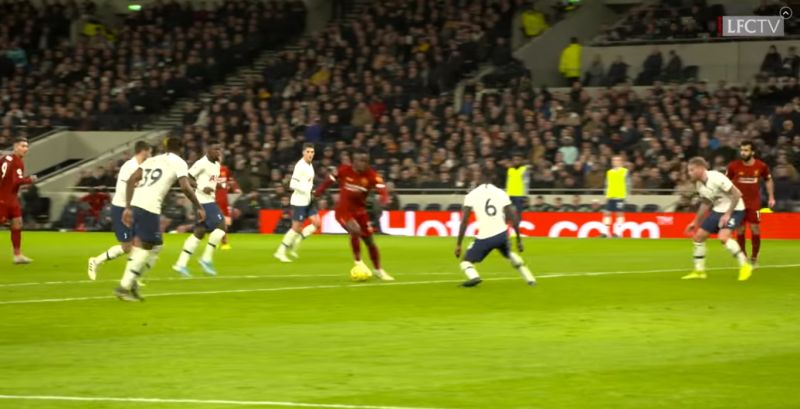 (Video) Origi sent several Spurs players for the Echo with fancy footwork on edge of box