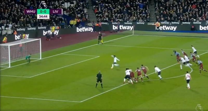 (Video) Salah puts LFC ahead as he slots penalty against West Ham