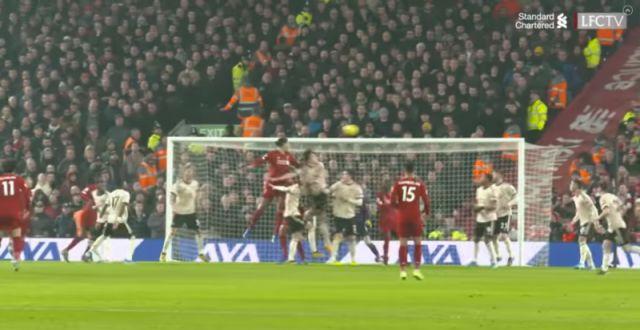Video New Angle Of Van Dijk S Header Shows Embarrassing United Defending