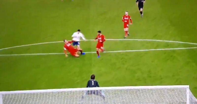 (Video) Virgil van Dijk pulls off brilliant clutch tackle to stop near-certain Dele Alli goal