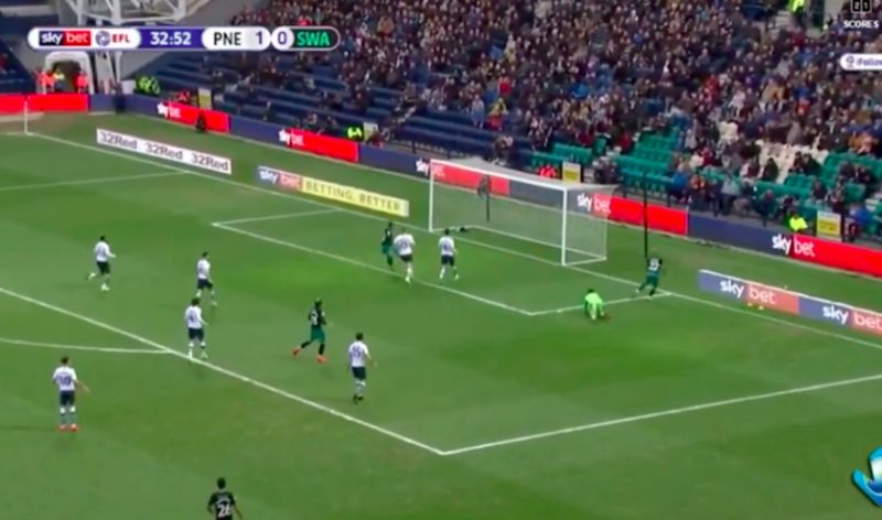 (Video) Brewster scores again for Swansea: LFC's on-loan forward makes it two so far