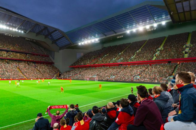 Liverpool will increase Anfield to 61,000 by 2022 if unveiled plans get go ahead