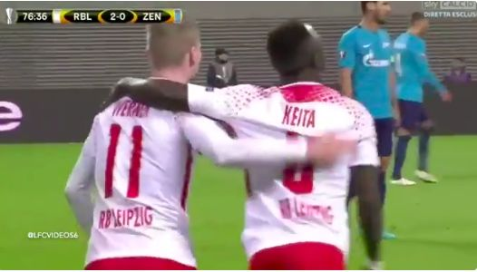 (Video) Werner & Keita linking up exquisitely, as Timo to LFC rumours gather pace