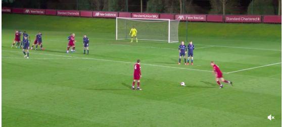 (Video) Summer signing van den Berg scores first Liverpool goal for U23s
