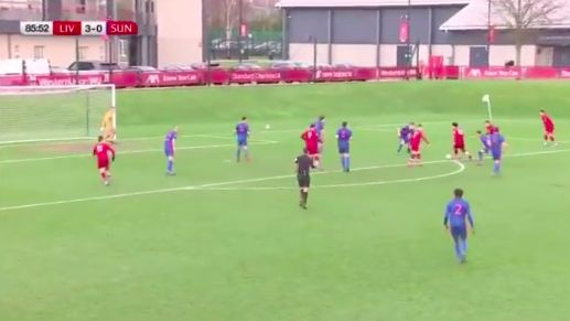 (Video) Curtis Jones scores jaw-dropping hat-trick for LFC U23s which included two stunners