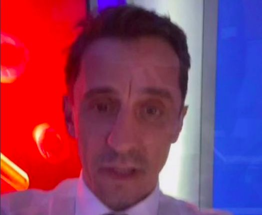 (Video) Gary Neville tries to troll Liverpool but it goes hilariously wrong
