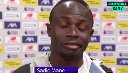 (Video) Sadio Mane's admission about Trent's creativity honest & funny