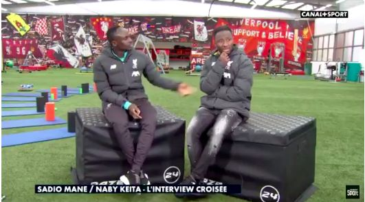 (Video) Keita and Mane bicker about best African player – Sadio says Naby must wait 8 years