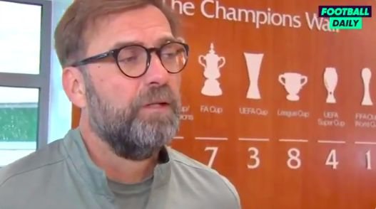 (Video) Klopp speaks Timo Werner: Striker loving Liverpool is 'positive'