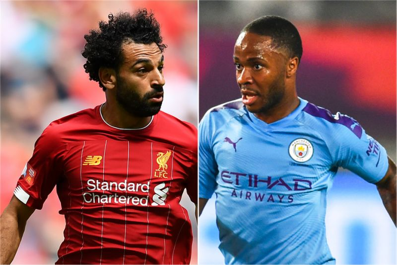 Sterling says his 7-year-old daughter sings Mo Salah songs at him to wind him up