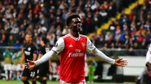 Liverpool are impressed by Arsenal starlet Bukayo Saka – report