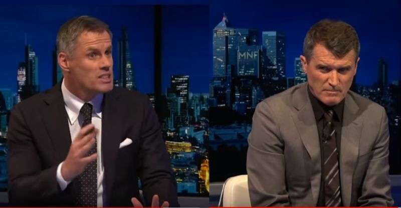 (Video) It kicks off between Carra & Keane as LFC '20 & MUFC '99 combined XI is discussed