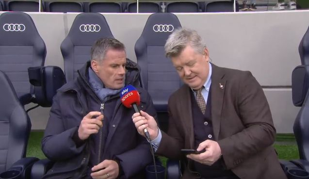 (Video) Carragher explains what he'd change with VAR – and he's spot on