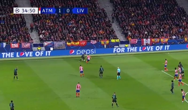 (Video) Firmino takes Atletico defender out of the game with wonderful skill move