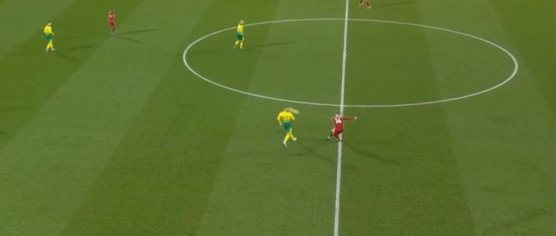 (Video) Nobody noticed this 70-yard diagonal pass Henderson pulled off during Norwich game