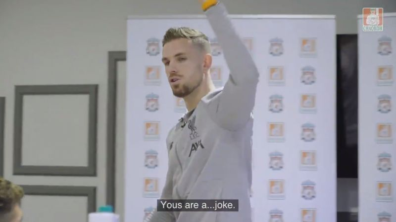 (Video) LFC squad play the part of content creators in hilarious spoof ft. Hendo, Robbo, Bobby & Matip