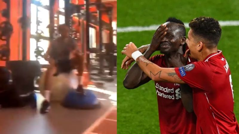 "(Video) ""Si Señor"" – Mane belts out Firmino's song in RCD Mallorca gym"
